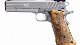 SIG SAUER 1911 STAINLESS SUPER TARGET 45 ACP